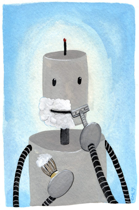 Christine Marie Larsen Illustration: January 2010 Robot of the Month