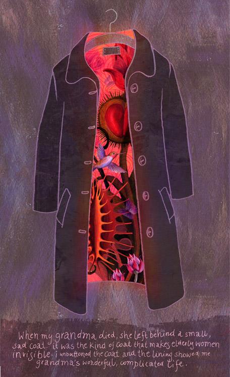 Grandmother's coat