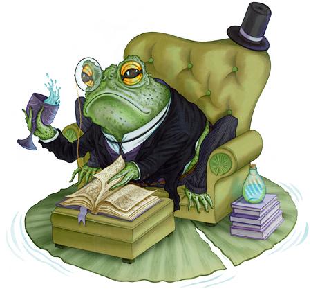 Gentleman Toad