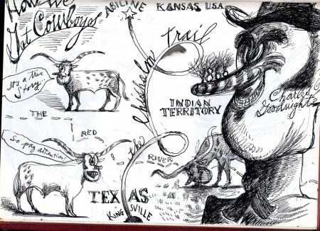 How we got cowboys by Everett Peck