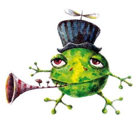 Dancing Frogs Funny