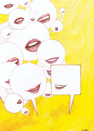 Women talk more