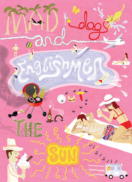 Mad Dogs and Englishmen by ardillustration