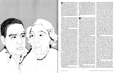 Richard Wright and Eudora Welty for Oxford American Best of South Issue