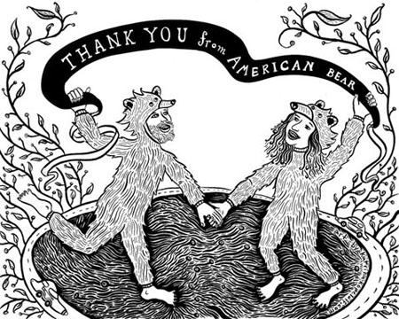 American Bear Thanks You