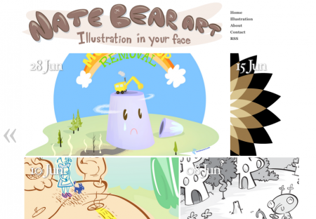 Nate Bear Art Screenshot