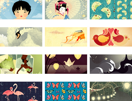 Twelve Desktop Wallpapers