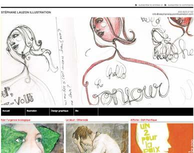 Stephane Lauzon has a new website
