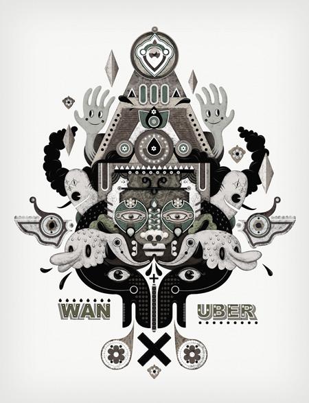 Collaboration 1 - Jonny Wan X Uberkraaft