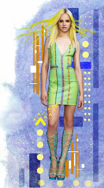 Versace Resort 2010