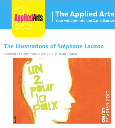 stephane Lauzon on Applied Arts Wire