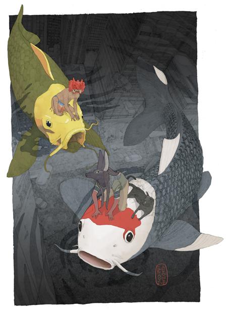 """""""Nishikigoi"""" by Antoine Revoy (2010)"""