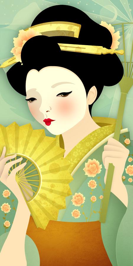 Geisha: Olive
