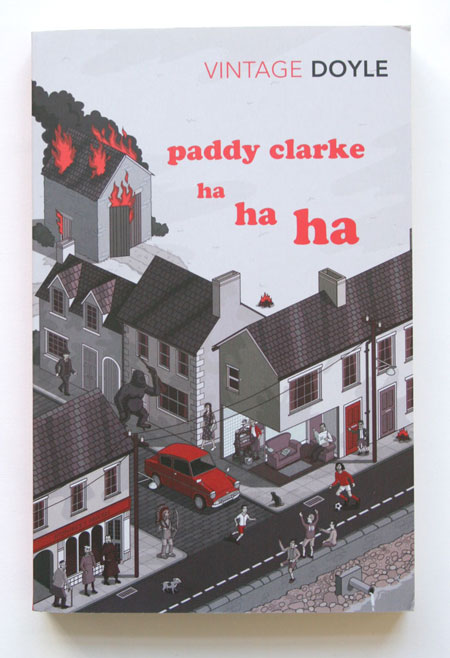 Paddy Clarke Ha Ha Ha by Roddy Doyle - Book cover by Rod Hunt