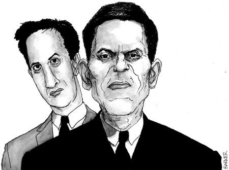 Ed and David Miliband illustration
