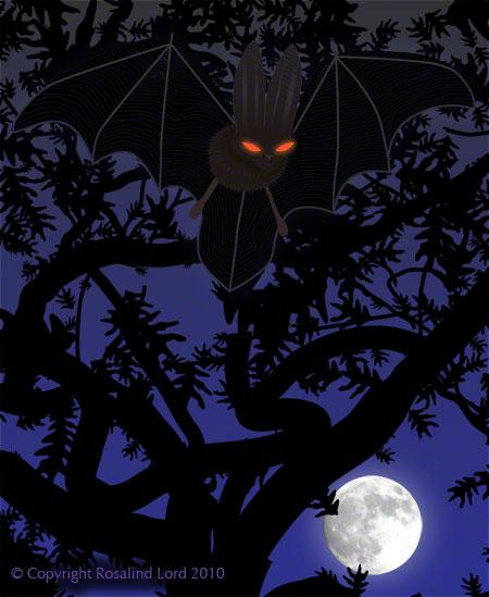 Red-Eyed Bat