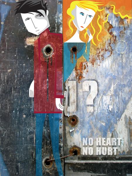 no heart, no hurt