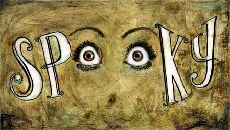 stephane lauzon : illustration friday - spooky