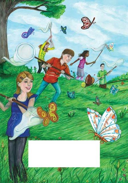 Stephane Lauzon illustration for Agenda Soleil
