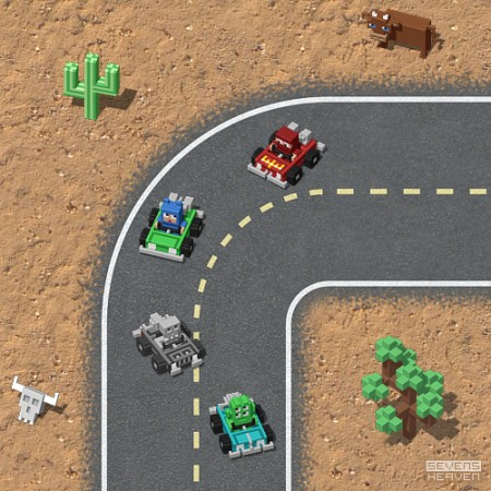 iPhone game graphics by Sevensheaven