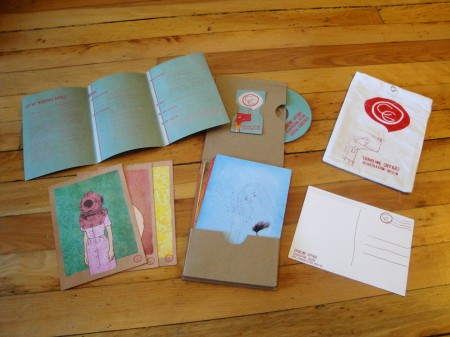 Handmade Self-promotion postcards kit
