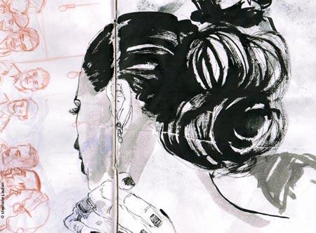 stephane Lauzon sketchbook