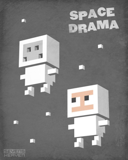 Space Drama poster design by Sevensheaven