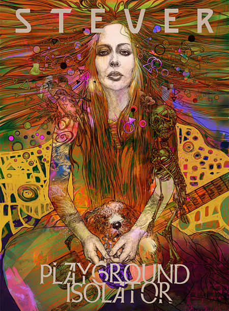 STEVER Playground Isolator fan art poster