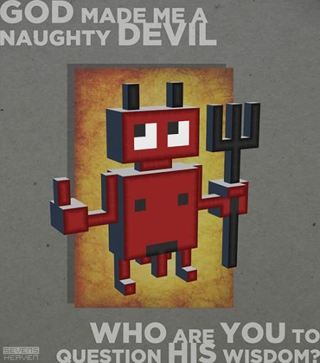 Naughty devil by Sevensheaven.nl