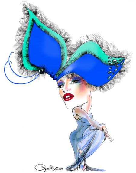 Anya Caliendo_Leonid Gurevich_Leon's Escapades_couture millinery