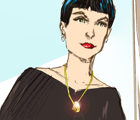 Eco Gold Necklace Illustration Fi Blog 450pix