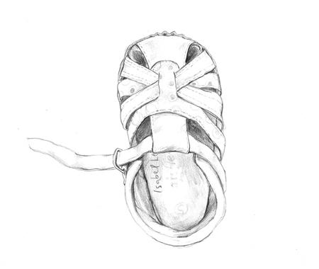 isabel's shoe