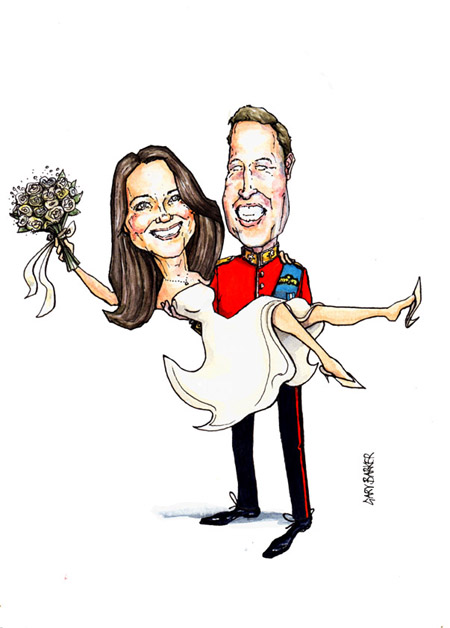 kate and william wedding pictures. kate and will wedding re-touch
