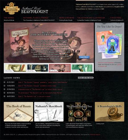 Nathaniel Fludd series website