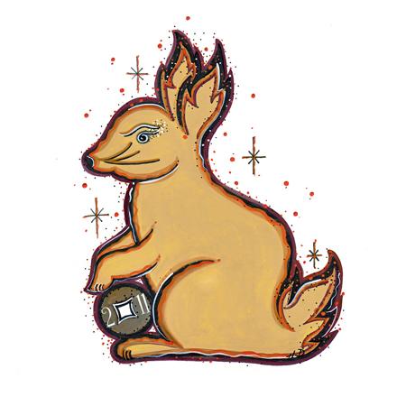 Creative Fire Bunny