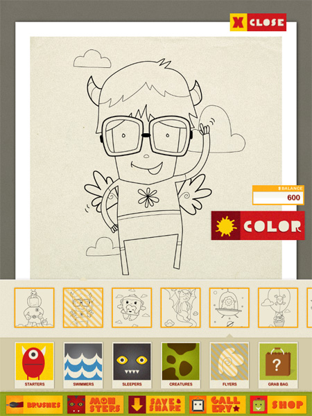 monstercoloringbook