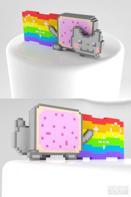sevensheaven-3d-print-pixel-art-voxels_pop-tart-nyan-cat