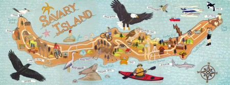 savary_island_illustrated_map