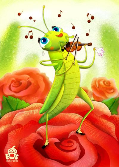 grasshopper-violin-by-miriam-bos