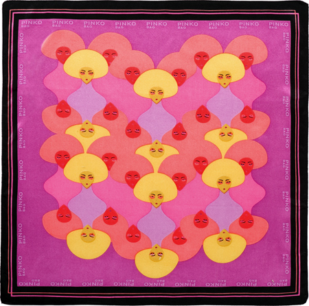 pinko-cool-foulard-scarf-cristian-grossi-illustrator