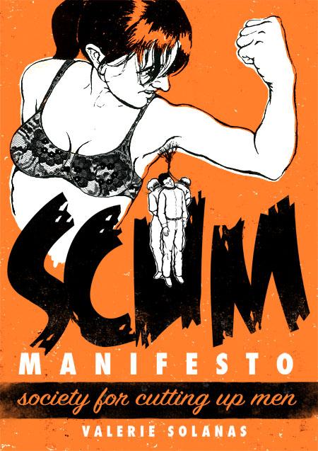 SCUM Manifesto book cover