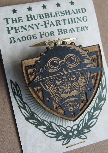 Bubbleshard-Badge