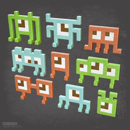 sevensheaven_3d-pixel-voxel-art_8-bit-retro-game-aliens