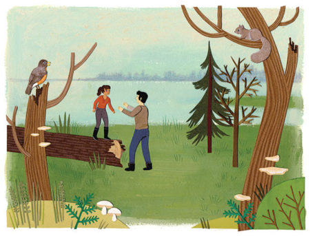 Nature_Canada_thankyou_card_forest_park_illustration