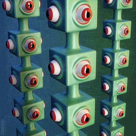 sevensheaven_surrealistic-surrealistisch-3d-artwork-kunstwerk-ogen-eyes