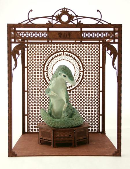 chinese pangolin sculpture