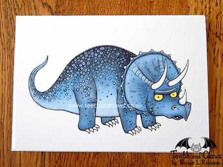 Triceratops_Card_Flat_NicolaLRobinson_lcs