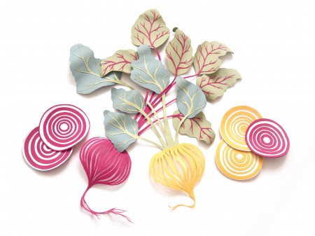 Food Inspired Paper Art By Sarah Dennis