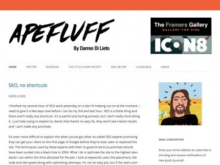 Apefluff by Darren Di Lieto