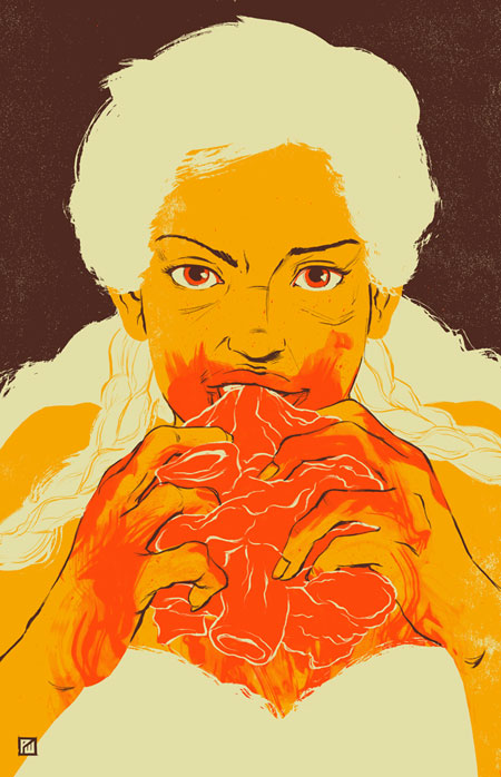 Khaleesi-Daenarys-Illustration-Patrick-Wong-450px